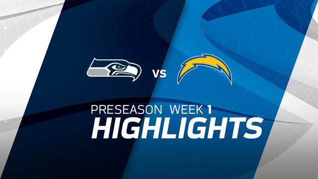 Seattle Seahawks vs. Los Angeles Chargers highlights | Preseason Week 1