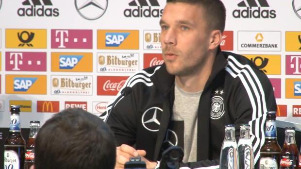 """Podolski zu Abschied: """"Ein komisches Gefühl"""""""