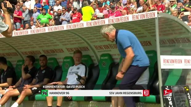2. Bundesliga: Hannover 96 - Jahn Regensburg   DAZN Highlights