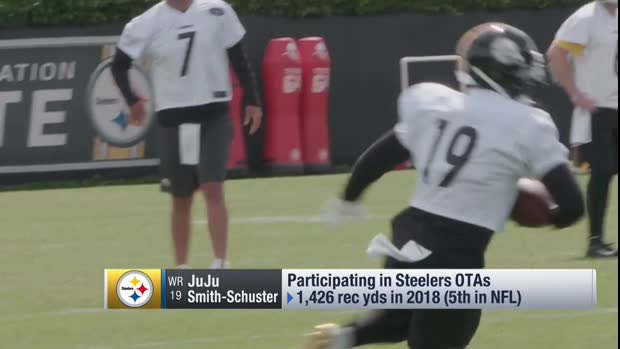 Pittsburgh Steelers wide receiver JuJu Smith-Schuster: Steelers' 'chemistry is on point'