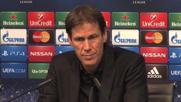 """Foot : LDC - Groupe E : Garcia : """"On a bien géré ce match"""""""