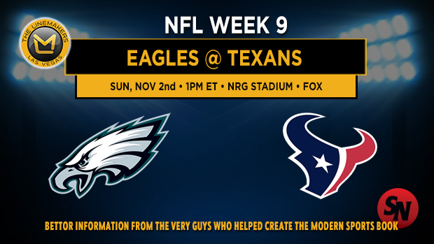 Philadelphia Eagles @ Houston Texans