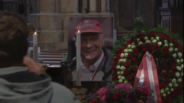 Niki Lauda: Trauerfeier und Bestattung in Wien