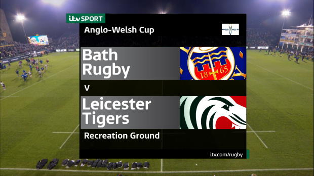 Aviva Premiership - Bath Rugby v Leicester Tigers