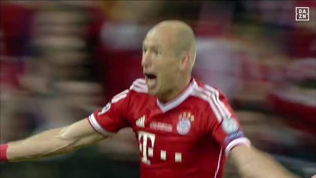 Arjen Robben mit dem Siegtreffer in Wembley | CL Archiv 2013