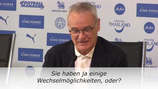 """Ranieri: """"Vielleicht ändere ich ja alles"""""""