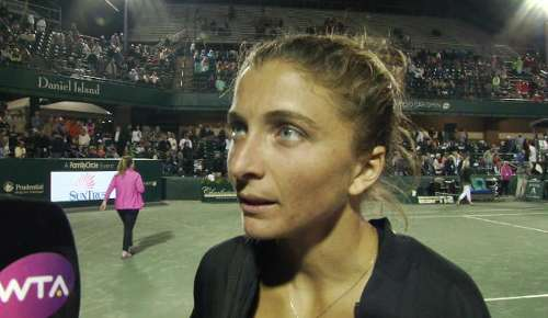 Errani Interview: WTA Charleston QF