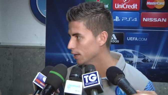 """Naples - Jorginho : """"On peut gagner à Bilbao"""""""
