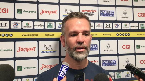 """Rugby : Top 14 - 16e j. : Worsley : ''Clermont a fait les choses mieux que nous"""""""