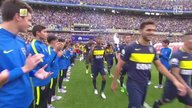 Argentinien: Boca Juniors - Union Santa Fe