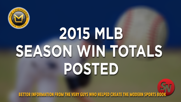2015 MLB Season Win Totals