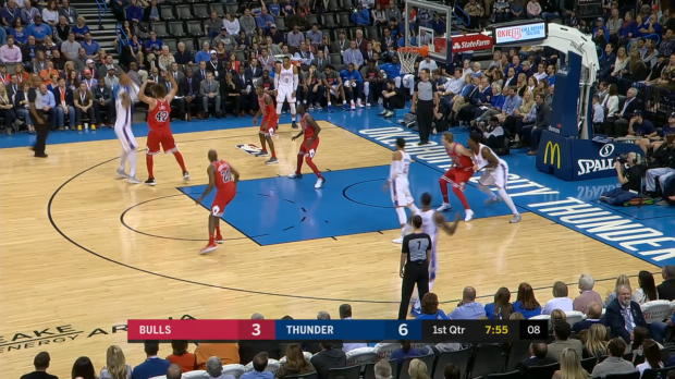 GAME RECAP: Thunder 92, Bulls 79