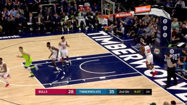 WSC: Karl-Anthony Towns (22 points) Highlights vs. Chicago Bulls