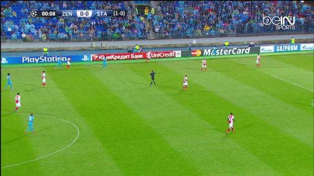 LdC : Zenit 3-0 Standard Liège