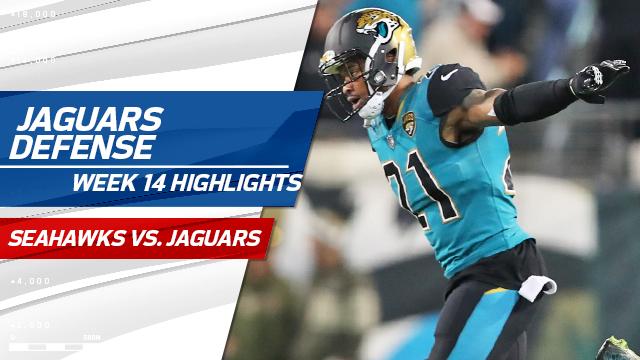 Jacksonville Jaguars defense highlights | Week 14