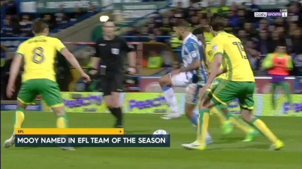 Mooy in EFL Team of the Year