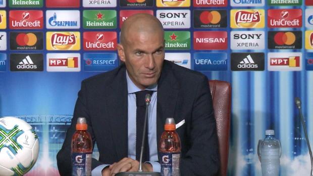"""Supercup: Zidane: """"Beeindruckendes Spiel"""""""
