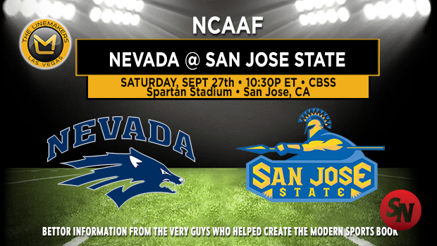 Nevada Wolf Pack @ San Jose State Spartans