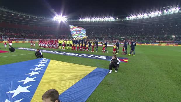 UEFA Nations League: Österreich - Bosnien-Herzegowina | DAZN Highlights