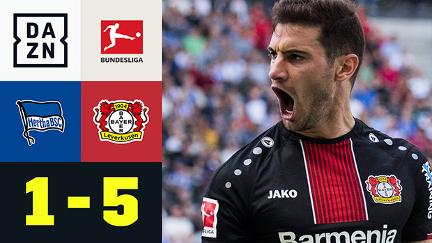 Bundesliga: Hertha BSC - Bayer 04 Leverkusen | DAZN Highlights