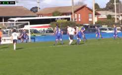 All of the goals from the clash between Devonport Strikers and South Hobart.