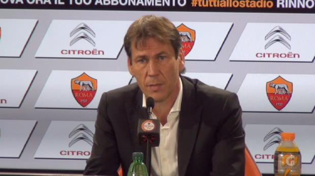 Foot : Serie A - AS Roma, Garcia attend une réaction