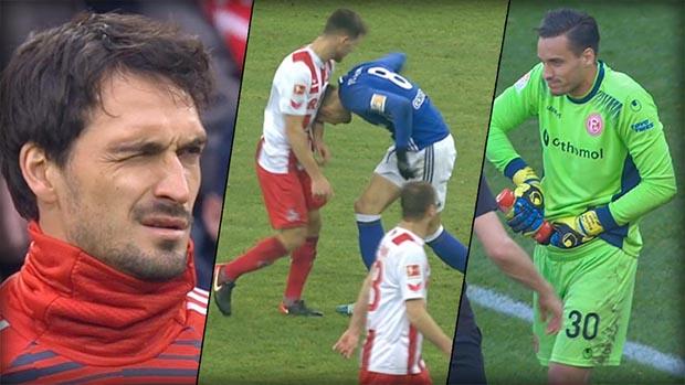 12 wilde Dinger! Die verrücktesten Szenen der Bundesliga-Hinrunde
