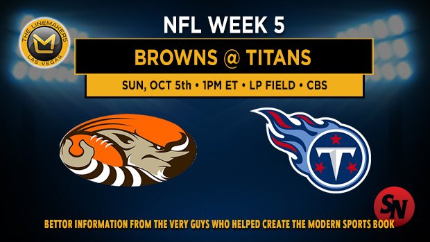 Cleveland Browns @ Tennessee Titans