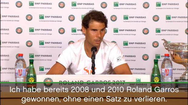 French Open: Nadal über La Decima und Wimbledon