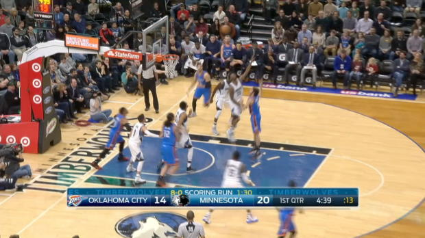 GAME RECAP: Timberwolves 96, Thunder 86