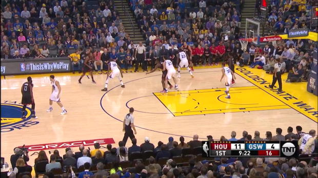 WSC: James Harden posts 29 points, 13 assists & 14 rebounds vs. the Warriors