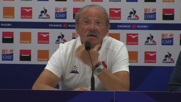 """Rugby : XV de France - Brunel - """"Ollivon et Cros ont un rôle à jouer"""""""