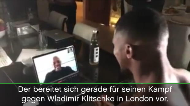 Boxen: Dr. Dre is calling! Joshua hat Edelfan