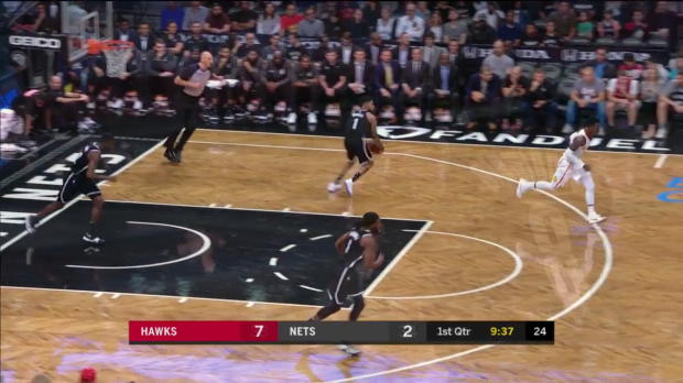 WSC: Dennis Schroeder 17 points vs the Nets