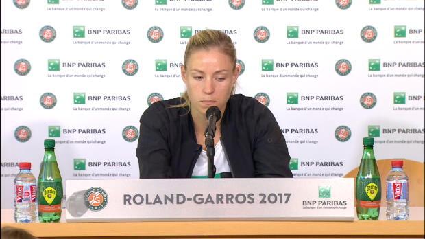 """French Open: Kerber: """"Das ist der Schlüssel"""""""