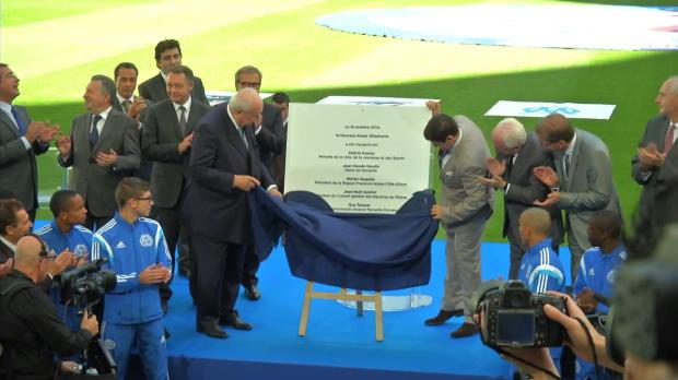OM - Marseille inaugure le nouveau V�lodrome