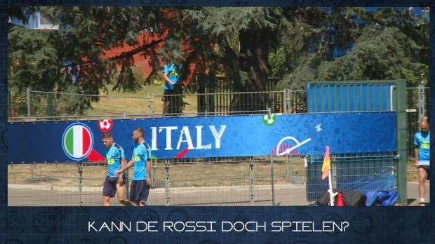 EM-News in 60 Sekunden: De Rossi doch fit?