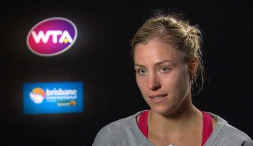 Kerber Interview: WTA Brisbane 1R