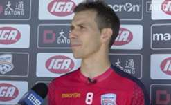 Adelaide United midfielder Isaias discusses his contract extension and the Reds' recent win over City.