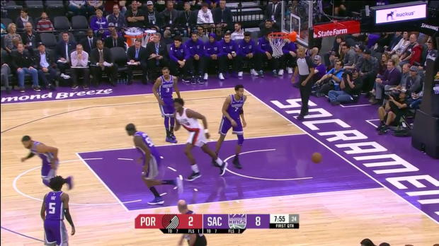 WSC: Damian Lillard (29 points) Game Highlights vs. Sacramento Kings