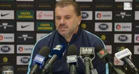 Caltex Socceroos boss Ange Postecoglou says he's already focused on the upcoming matches against Syria and ensuring his side if fully prepared for the WCQ playoffs.