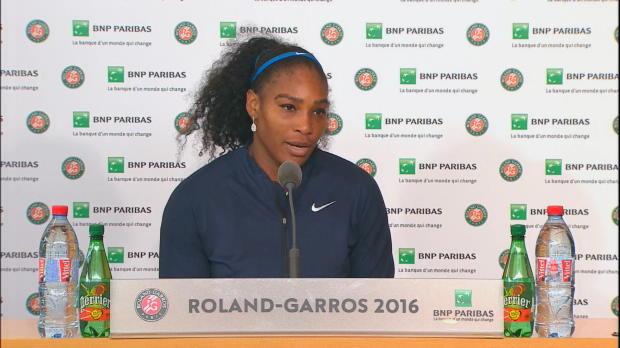 """French Open: Serena: """"Suche keine Ausreden"""""""