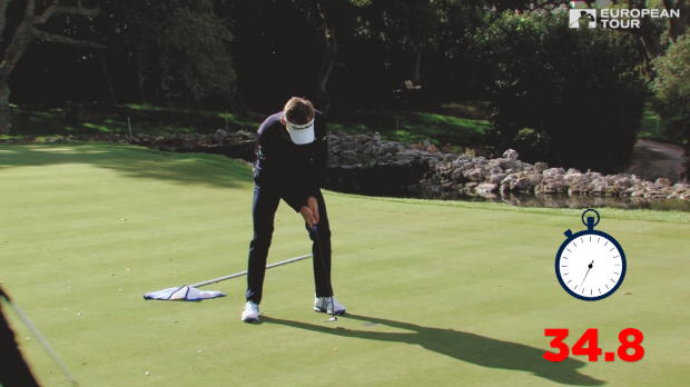 French team complete par 5 hole in 34.8 seconds
