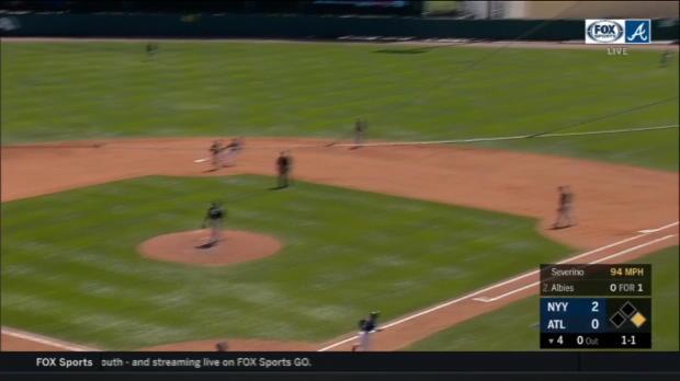 Albies' two-run home run