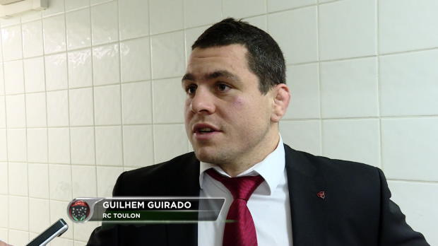 RCT - Guirado - 'Du tr�s gros niveau'