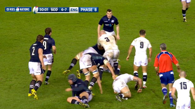 Scotland v England Second half highlights 6th February