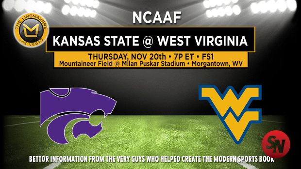 Kansas State Wildcats @ West Virginia Mountaineers