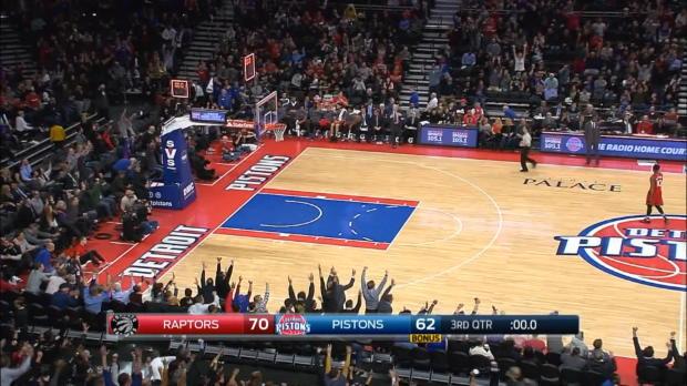 Basket : NBA - L'action qui tue -  Drummond signe le shoot de l'année