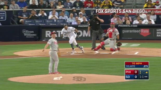 Padres vs. Phillies: Spangenberg als Held
