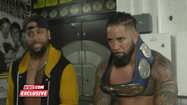 The Usos on what it means to beat three other teams: WWE.com Exclusive, Dec. 17, 2017